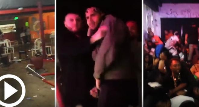 Стрелба с ранени на участие на Крис Браун /видео/
