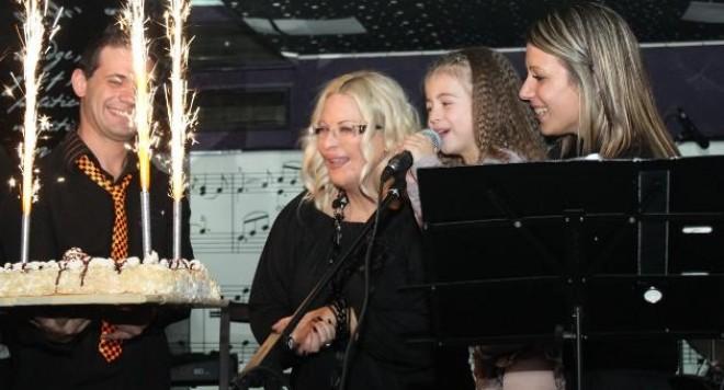 Изискано парти за рождения ден на  Мария Бонева