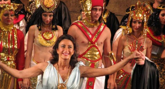 Сръбска оперна дива като Аида в Опера в Летния театър 2017 Варна