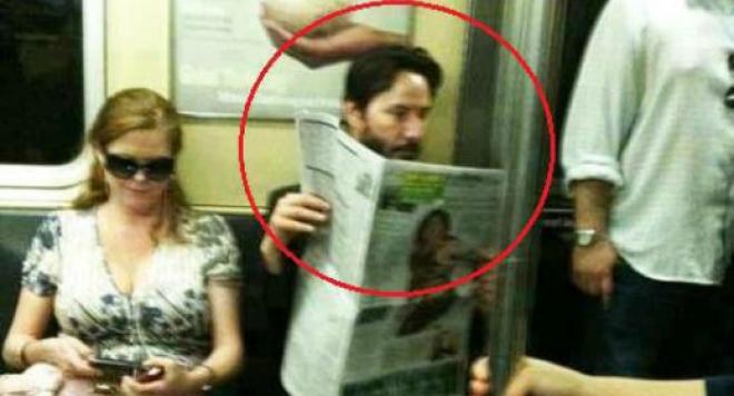 Киану Рийвс: Оценяват ме на 100 милиона долара, но се возя в метрото и ми харесва