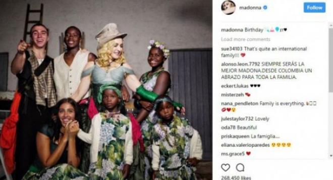 Мадона заживя в Португалия