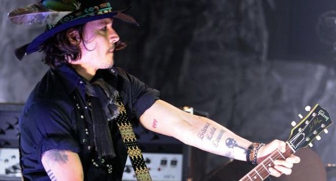 Джони Деп става китарист на Мерилин Менсън