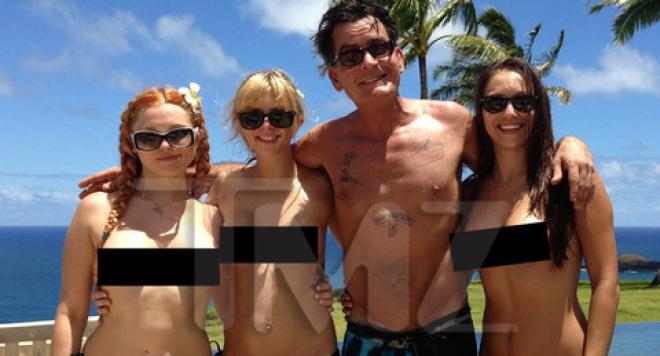 Чарли Шийн попиля проститутка, която го съди заради ХИВ
