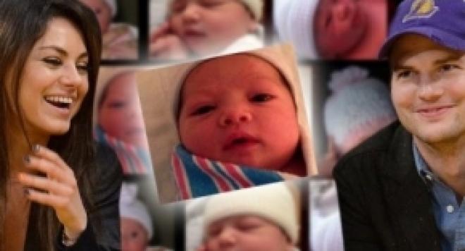 Аштън разкри как с Мила са избрали името на бебето