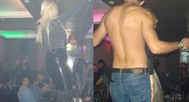 Криско с  диво чалга парти в САЩ под дъжд от салфетки, пияни голи мъже и още...  (Вакханалията в снимки)