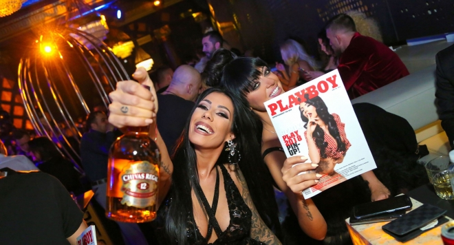 Playboy с парти на световно ниво