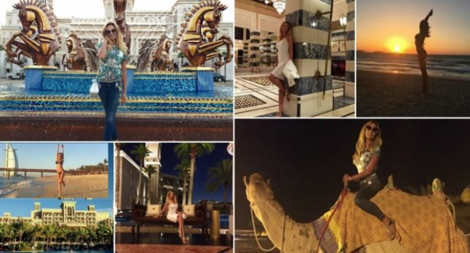 Малина се бръкна 200 бона за почивка в Дубай с новото си гадже (СНИМКИ)