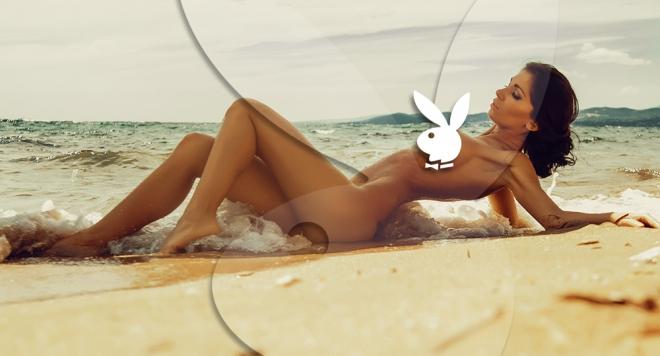 Мис Дупе в секси морска сесия (снимки)
