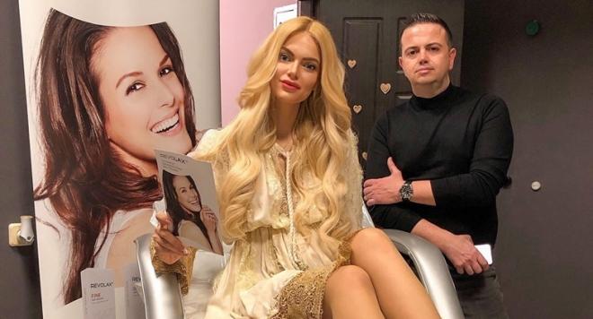 Мис Свят България 2017 Вероника Стефанова стана лице на козметично студио
