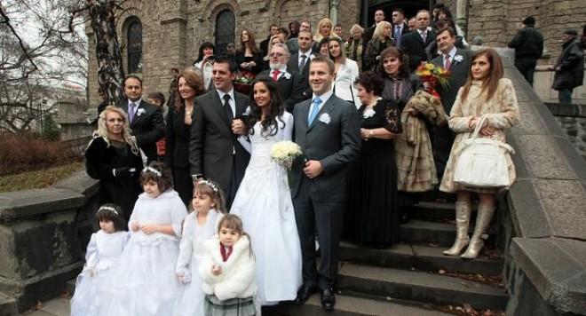Гуркова се омъжва за четвърти път