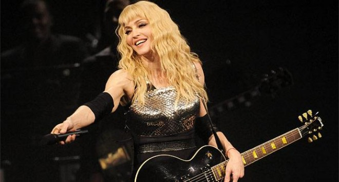 Мадона се прави на Бог за Хесус