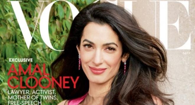 Съпругата на Джордж Клуни на корицата на Vogue