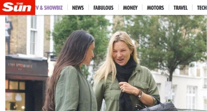 Деми Мур и Кейт Мос на шопинг заедно в Лондон