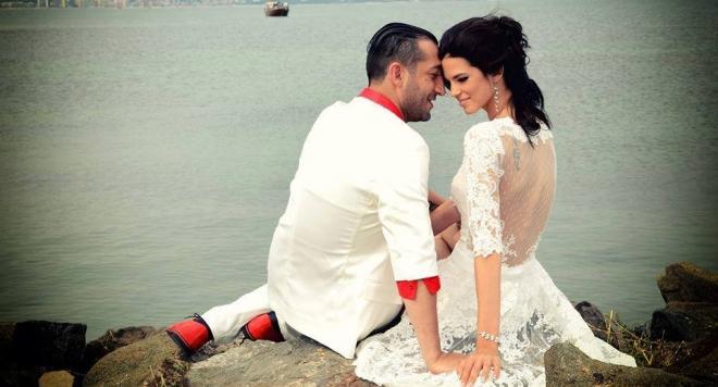 Вижте снимки от пищната сватба на Илиян и Камелия