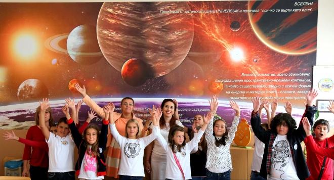 """Обичам моето училище – прекрасна инициатива на фондация """"LightSource charity и 139 ОУ Захарий Круша (ВИДЕО)"""