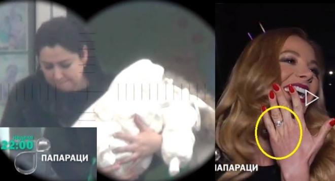 Вижте за първи път бебето на Фики и годежния пръстен на Емилия