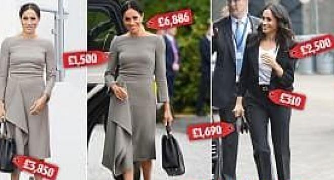 Мегън  потроши 50 бона за рокли