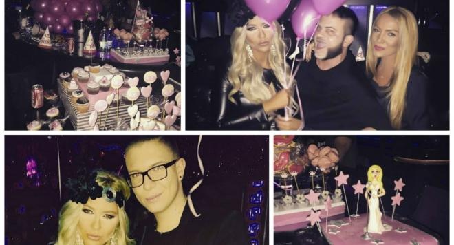 Андреа отпразнува рождения си ден с розово парти