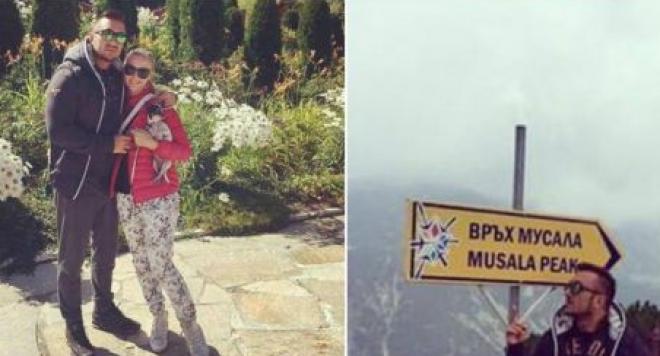 Коцето и Надя релаксират в планината (СНИМКИ)