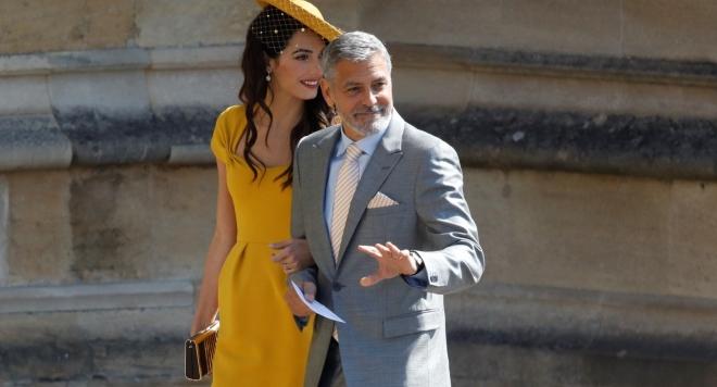 Джордж Клуни се вихрил на дансинга с Меган и Кейт