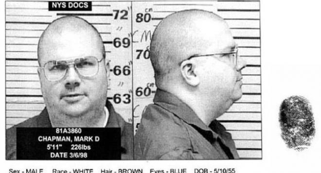 Убиецът на Ленън: Бях идиот