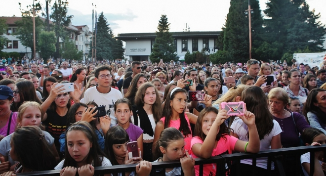 Впечатляващ старт на фестивала  One Love Tour в Банско (Снимки)