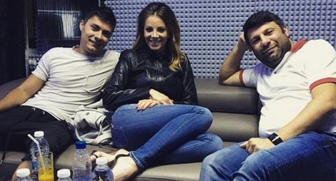 Емилия и Тони Стораро снимат клип на дуетната си песен
