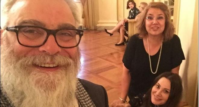 Мадам Мулти, Владо Пенев и Марта се събраха в Милано