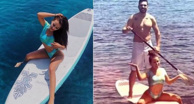 Гери-Никол кара сърф с ново гадже