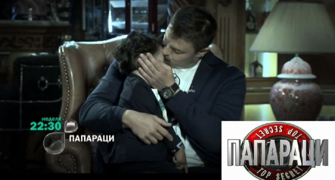 За първи път! Вижте малкия пораснал син на Николай Бареков