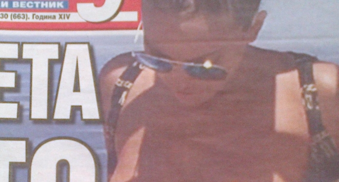 Папараци щракнаха Николета по цици на морето (Фото)
