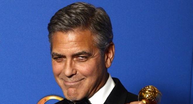 """Джордж Клуни взе \""""Златен глобус\"""" за цялостно творчество"""