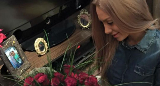 Златка Райкова се похвали с рози от Георги