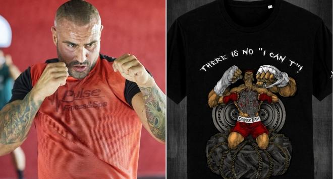 Марчо Марков пусна лимитирана серия тениски (Снимки)