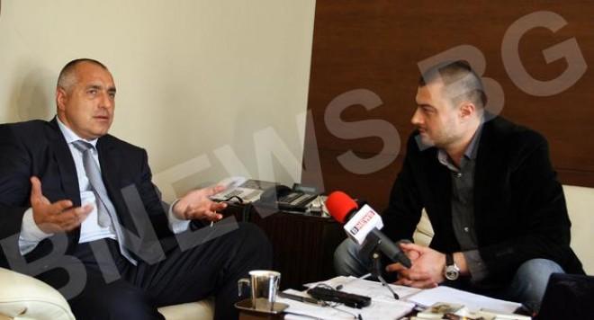Бойко Борисов празнува рождения си ден с Берлускони