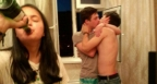 16 СНИМКИ на мъже, които не плачат, за да не развалят грима си