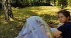 Щерката на 83-годишния Финци живее в гората