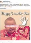 Мика отбеляза 5 месеца от раждането на дъщеря + защо малката носи фамилията на дядо си