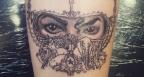 Дъщерята на Джако с татуировка в негова памет (СНИМКИ)