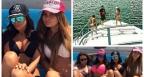 Преслава се отдаде на летни забавления с приятелки